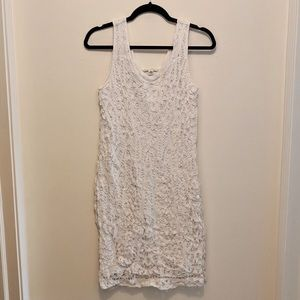 Banana Republic | White Lace Sleeveless Dress 12